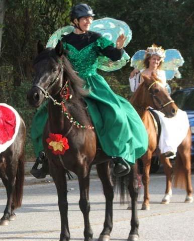 Gaya at Christmas Parade