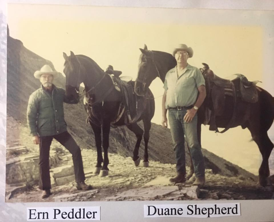 duane shepherd and ern peddler