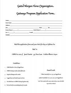 Gaitways application form
